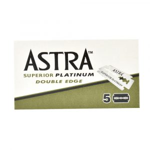 WIK1851RB Astra Superior Platinum Double Edge Razor Blades (5 Pack)