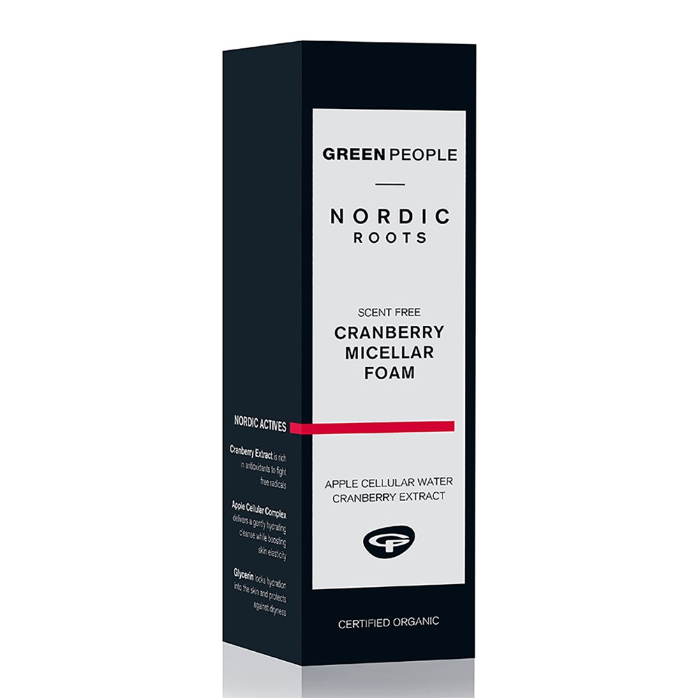 Green People Nordic Roots Cranberry Micellar Foam