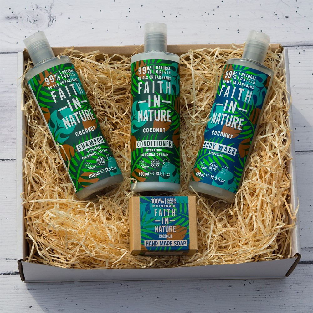 Faith in Nature Coconut Deluxe Gift Set