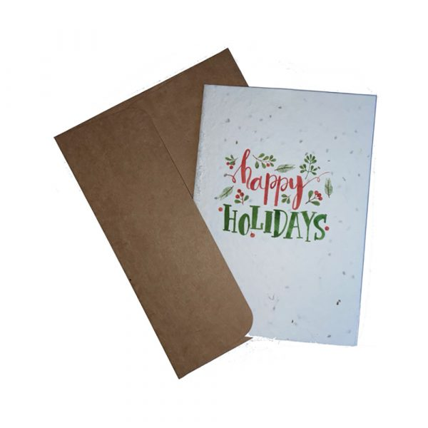 WIK2300CA Christmas Greetings Card - Happy Holidays