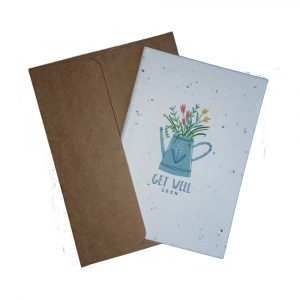 WIK2317CK Greetings Card - Get Well Soon
