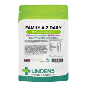 VIT1021FM Lindens Family A-Z Daily Chewable Multivitamins (90)