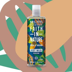 Faith in Nature Shea & Argan Body Wash vegan