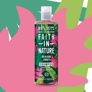 SHA0410DF Faith in Nature Dragon Fruit Shampoo Vegan