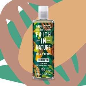 SHA0411SA Faith in Nature Vegan Shea & Argon Shampoo