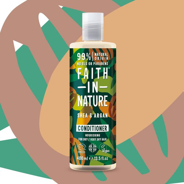 SHA0463SA Faith in Nature Vegan Shea & Argan Conditioner