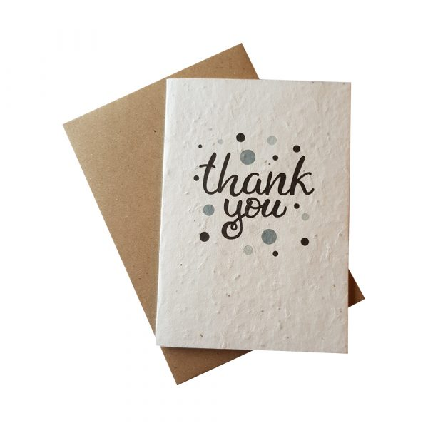 Greetings Card - Thank You