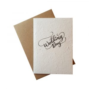 WIK2322WD - Greetings Card - Wedding Day