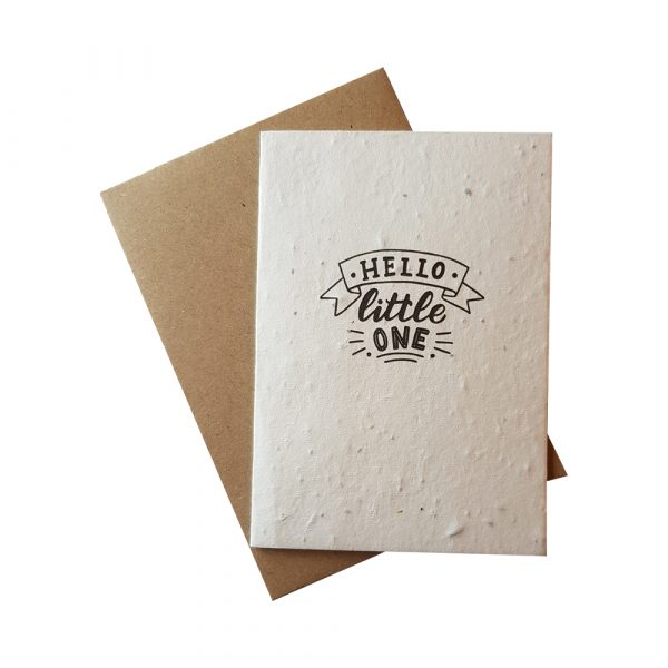 Greetings Card - Hello Little One