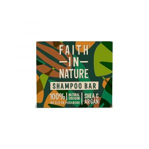 Faith in Nature Shea & Argan Shampoo Bar Vegan WIK2373SS