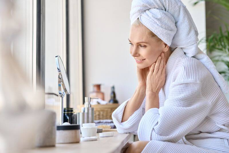 A good skincare routine benefits us in so many ways